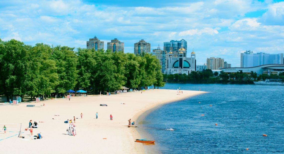 Один из пляжей Киева