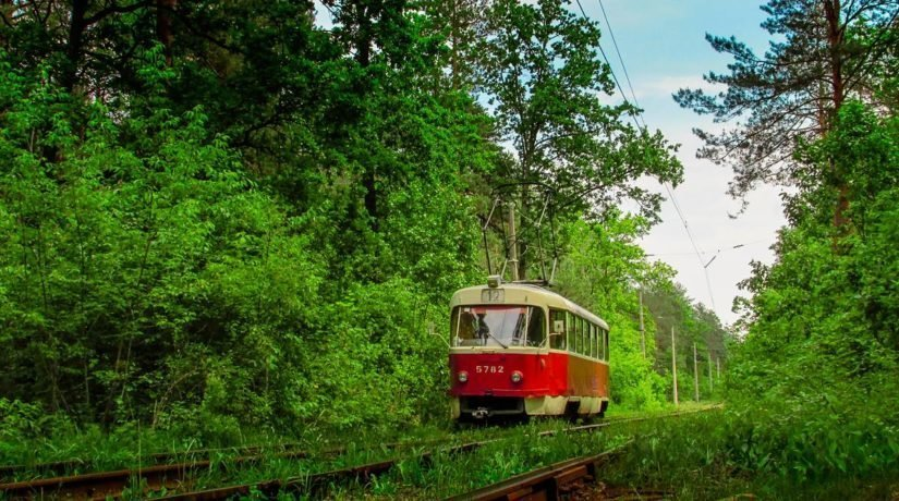 Трамвай в Пуща-Водице