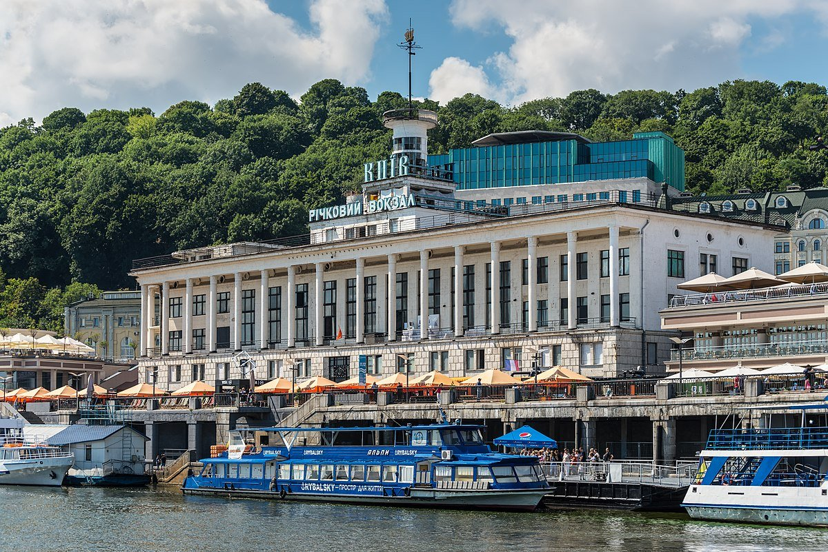 Речной вокзал в Киеве