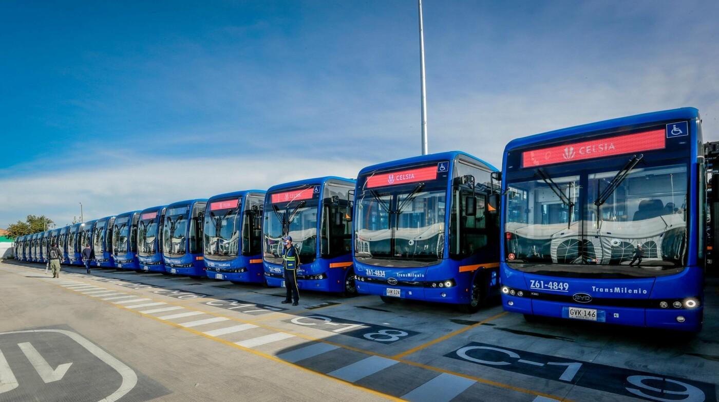 Китайские электробусы BYD