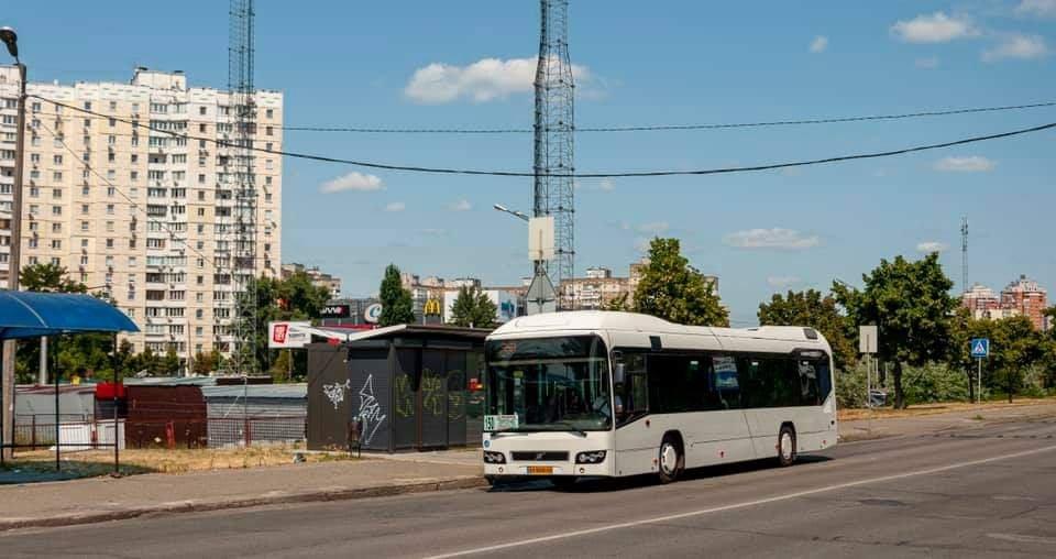 В Киеве по маршруту №150 запустили автобус-гибрид Volvo 7700 Hybrid, Фото из сайта autocentre.ua