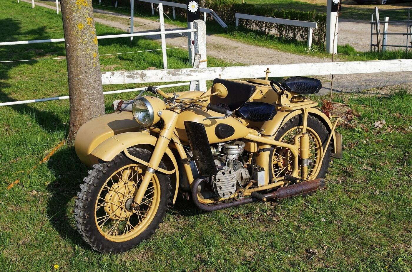 """Мотоцикл """"Днепр К-750"""", Фото: Википедия"""