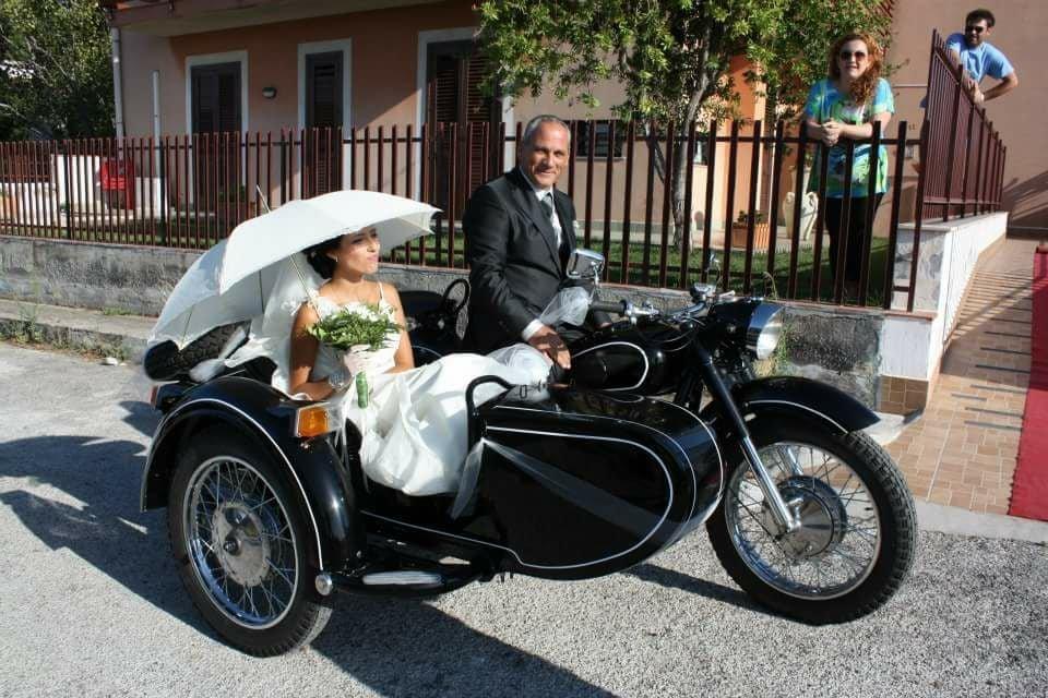 """Киевский мотоцикл на итальянской свадьбе в стиле фильма """"Туз"""""""