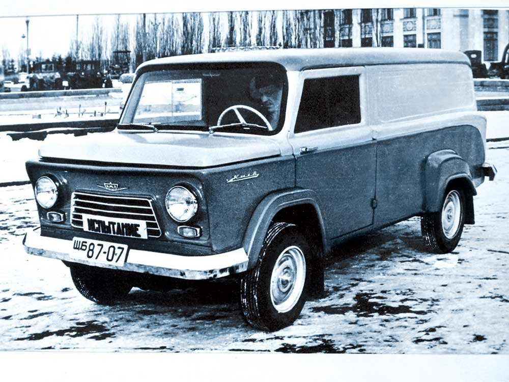 """Автомобиль КМЗ-4 """"Киев"""", Фото: Википедия"""