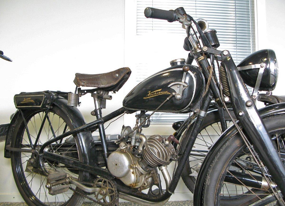 """Мотоцикл """"Киевлянин"""", Фото: Википедия"""