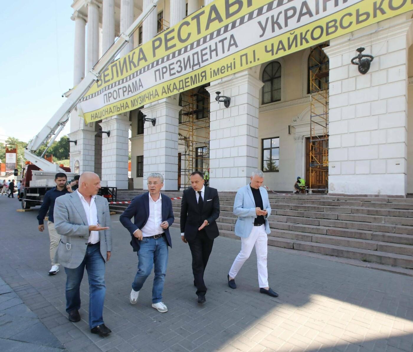 Реставрация музыкальной академии Чайковского