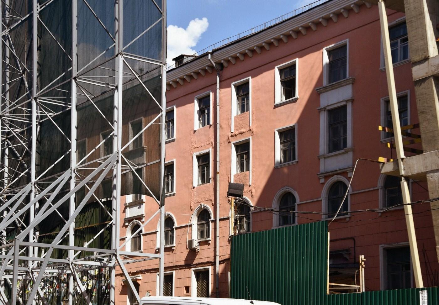 Снесенное здание на Лыбедской площади