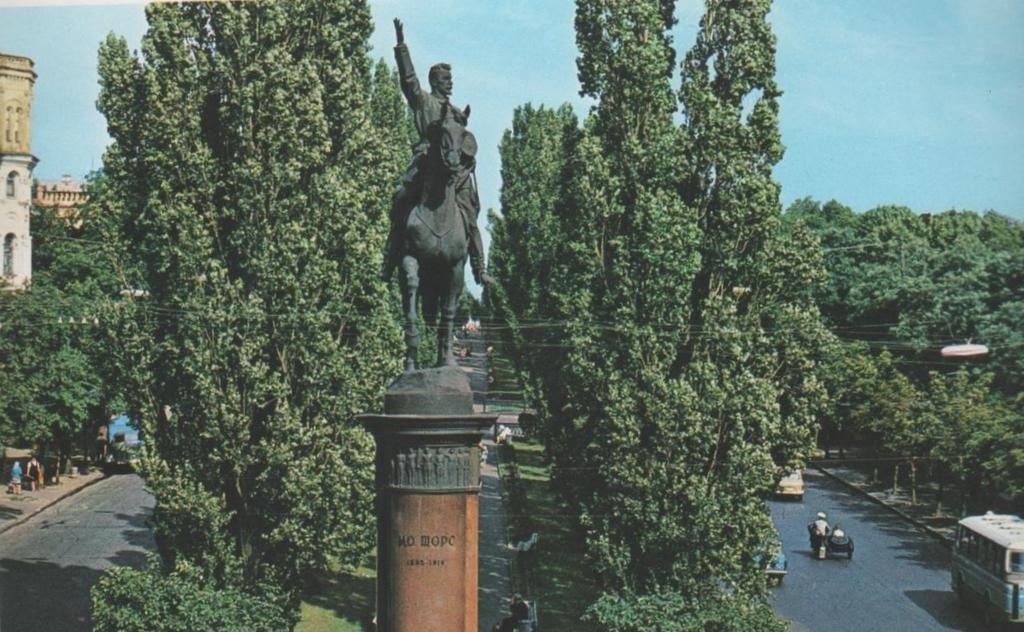 Памятник Щорсу в Киеве