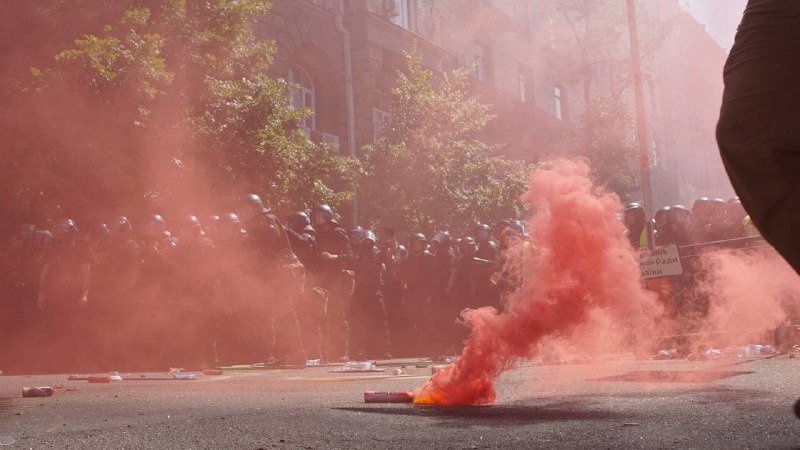 Акция протеста 14.08.2021, Фото: Андрей Билецкий