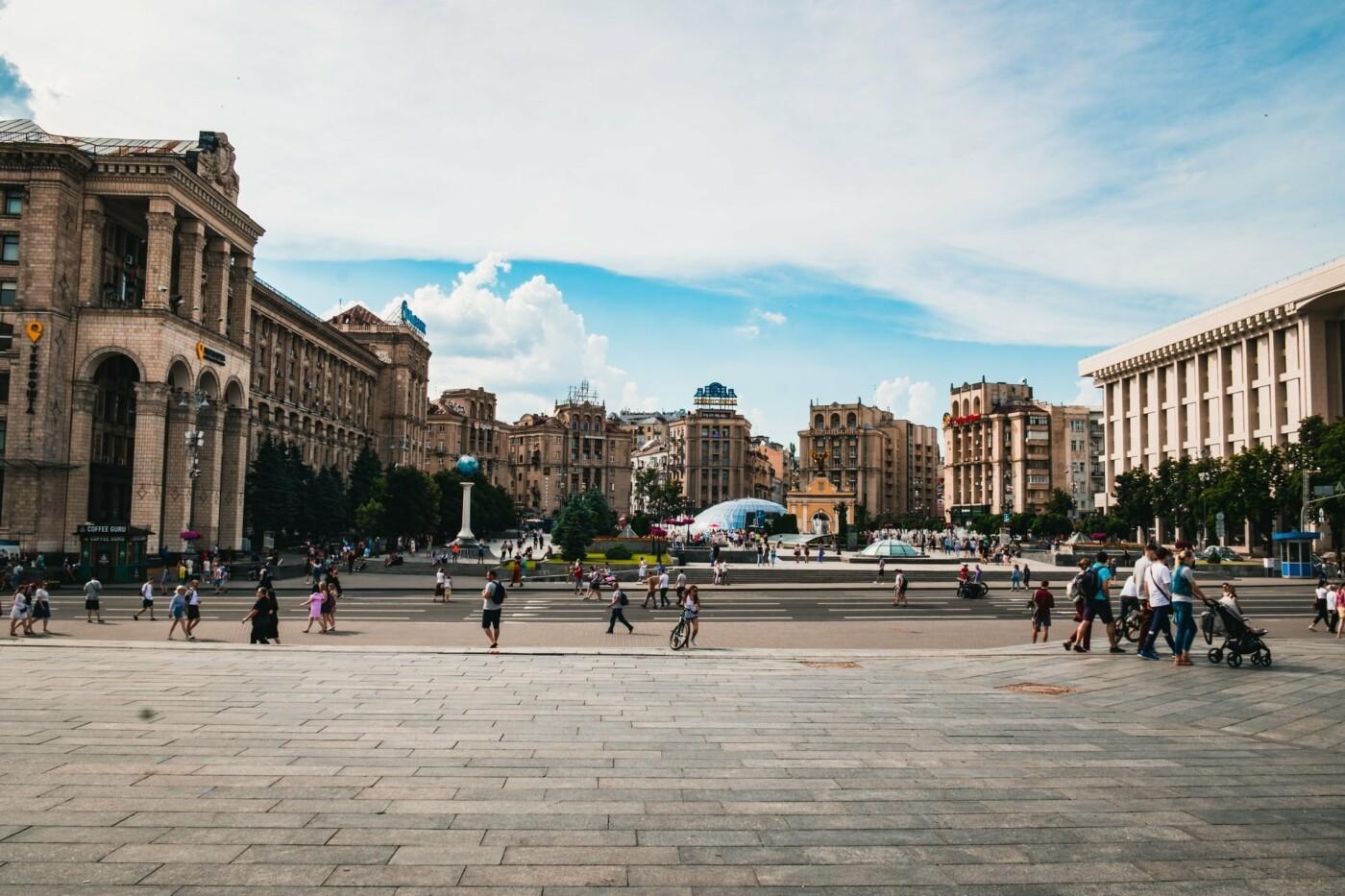 Люди в Киеве
