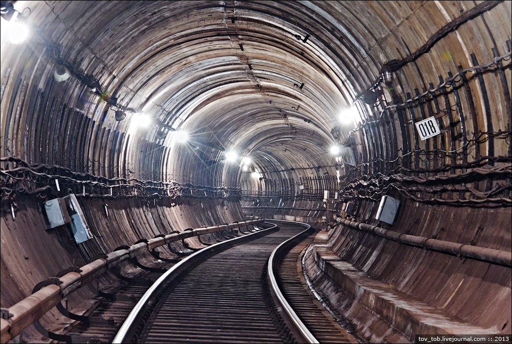 Секретная линия Киевского метро