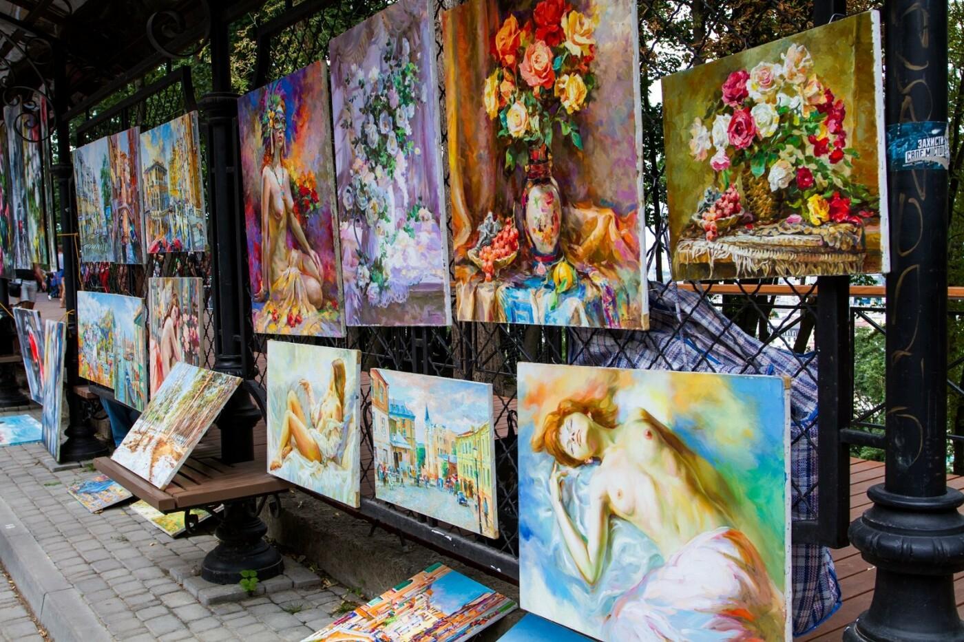 Аллея художников в Киеве