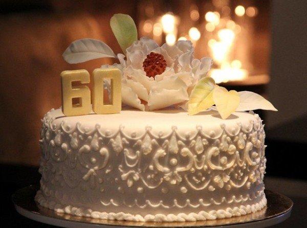юбилейный торт на день рождения
