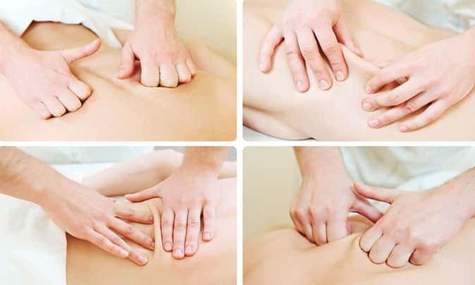 массаж поглаживание растирание разминание вибрация